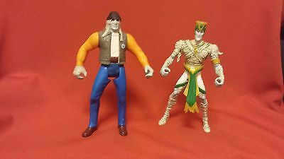 MUMMIES ALIVE Egypt JA KAL and WIZARD RA (1997) army builder Action Figure lot!!