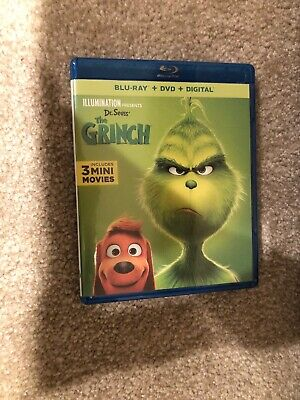 Dr. Seuss' The Grinch Bluray 1 Disc Set ( No Digital HD)