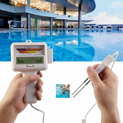 Electronic PH Value Meter Tester Water Quality Chlorine Level Meter Test Monitor