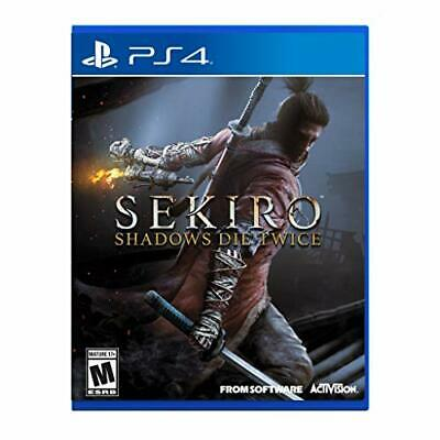 New Sekiro Shadows Die Twice (Import Version: North America) - Ps4 Japan Export