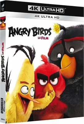 ANGRY BIRDS le film [Blu-ray 4K] [4K Ultra HD] NEUF SOUS BLISTER