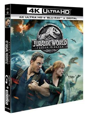 JURASSIC WORLD: Fallen Kingdom [4K Ultra HD + Blu-ray + Digital]  NEUF BLISTER