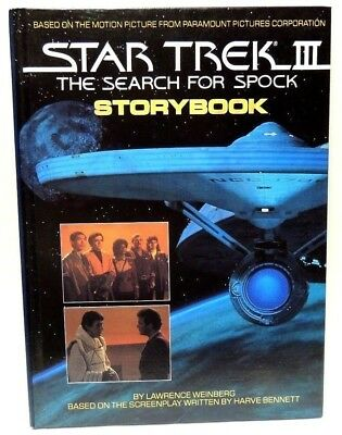 STAR TREK III THE SEARCH FOR SPOCK STORYBOOK book (Hardcover, 1984)