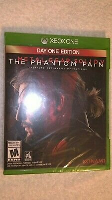 Metal Gear Solid V: The Phantom Pain - Day One Edition (Microsoft Xbox One) NEW