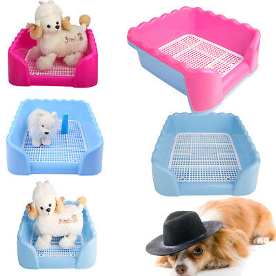 Dog Toilet Pet Potty House Training Indoor Trainer Mat Sleep Tray Holder S/M/L