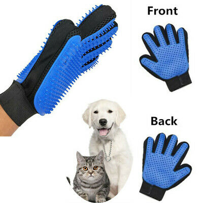 Double Side Cleaning Brush Glove Pet Dog Cat Massage Hair Fur Remover Grooming