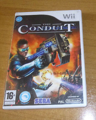 Jeu nintendo wii - The conduit FPS action complet (SEGA)