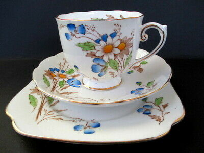 "Art Deco / Vintage China Tea Set Trio.Roslyn China."" ELY "".5490."