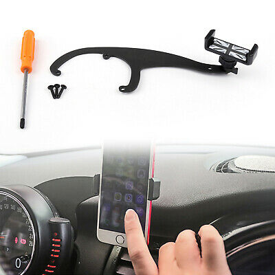 360°Rotation Car Phone Mount Cradle Holder Stand For Mini Cooper R55 R56 Gry TZ