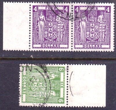 New Zealand 1967 Decimal Arms Postals Fiscals fine used.as Scan 18014
