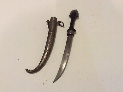 Nice Old Antique North African Moroccan Koummya Jambiya Dagger No Sword