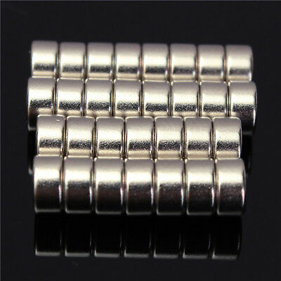 30Pcs 6x3mm N52 Super Strong Round Disc Blocks Rare Earth Neodymium Magnets Easy