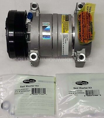 New Delphi Cs0120 Air Conditioner Compressor
