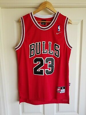 79a905589c9 Nwt Michael Jordan #23 Chicago Bulls Red Throwback Jersey Stitched Small S