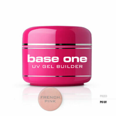 SILCARE GEL COSTRUTTORE BASE ONE FRENCH PINK DENSO ROSA LATTIGGINOSO UNGHIE 50gr