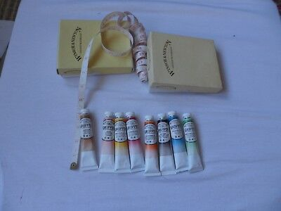 Winsor & Newton Vintage  - 8 Tube Griffin Alkyd Colour  - 20Ml In Each Tube