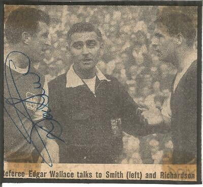 Football Autograph Bobby Smith Signed Newspaper Picture Brighton FC F716