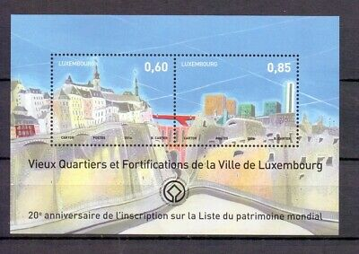 LUXEMBURG 2014 city of luxemburg m/s  MNH** A19