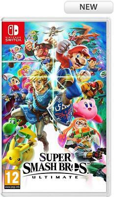 Super Smash Bros Ultimate Nintendo Switch Game New (See Details)