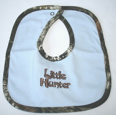Mossy Oak Camo 'Little Hunter' Bib, Blue Camouflage Baby