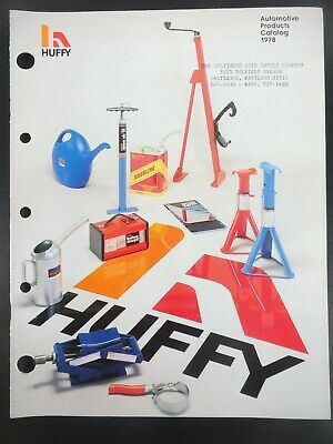 """1978 Vintage HUFFY- """"Automotive Products Catalog"""" Jobbers Catalog and Sell Sheet"""