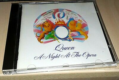 Queen - A Night At The Opera - CD - EMI - CDP 7 46207 2 Germany(Freddie Mercury)