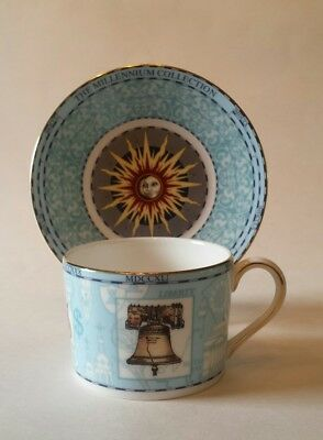 Wedgwood Millennium Cup & Saucer 18th Century Age of DISCOVERY