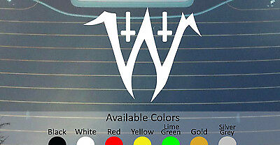 ELECTRIC WIZARD VINYL DECAL STICKER CUSTOM SIZE//COLOR ORANGE GOBLIN SLEEP