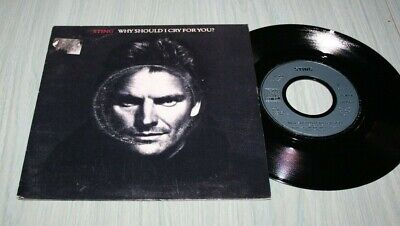 Sting 45 Tours Why Should I Cry For You Am Records 390 796-7 De 1991