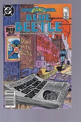 High Grade Canadian Newsstand Edition Blue Beetle #9 $1.00 Price Variant