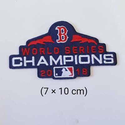Boston Red Sox  2018  Sport Logo MLB  Embroidery Iron,sewing,patch on Clothes;