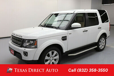 2016 Land Rover LR4 HSE Texas Direct Auto 2016 HSE Used 3L V6 24V Automatic 4WD SUV Premium