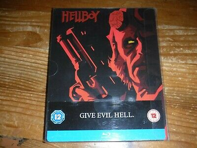 Hellboy Blu Ray Steelbook