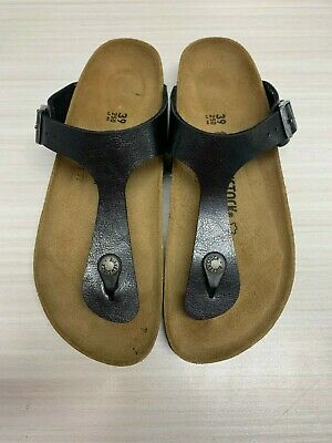eab1d53ae8f Birkenstock Gizeh Graceful Licorice Sandals Shoe Size 39N New Brand W O Box  (57