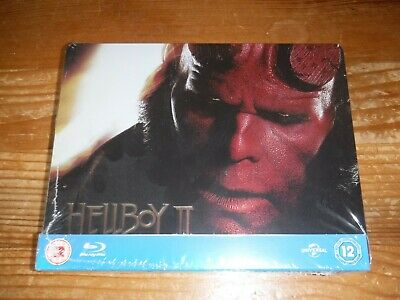 Hellboy Ii  The Golden Army Blu Ray Steelbook  New & Sealed Uk Exclusive