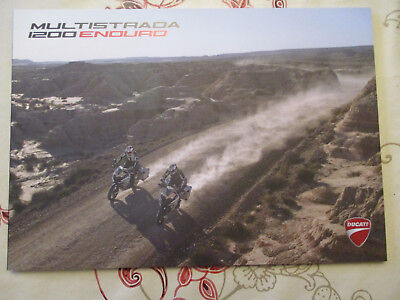 Catalogue Moto : Ducati : Multistrada 1200 Enduro  10/2017