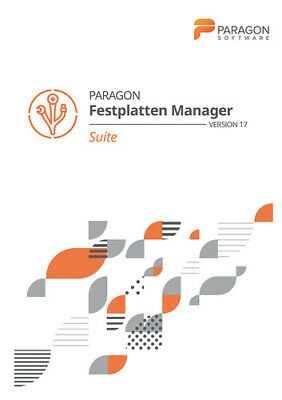 Paragon Festplatten Manager 17 Suite, Download, Windows