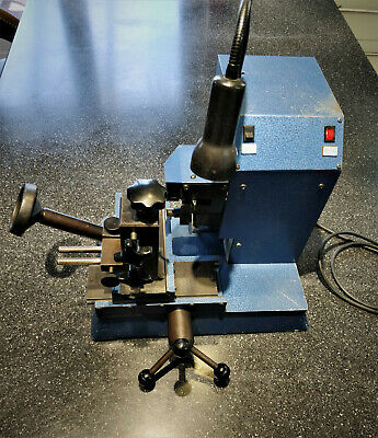 Mortise key cutting machine,  heavy duty model,  British made and very accurate.