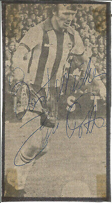 Football Autograph Eric Potts Brighton FC Signed Newspaper Picture F727