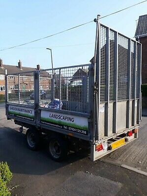 Ifor Williams LM106 Trailer Including Super Winch and sides VGC, 10ft x 5.5ft
