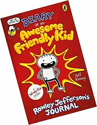 Diary of an Awesome Friendly Kid: Rowley Jefferson's Journal (Diary of a... Book