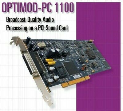 ORBAN OPTIMOD PC1100 v2 5-Band On-Air/DAB/Web Streaming Processing Digital Audio