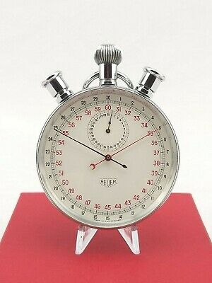 1962 Heuer Olympic Split Second stopwatch timer stop watch rally TAG ref.572