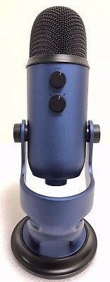 Blue Microphones Yeti Professional USB Condenser Microphone - Midnight Blue