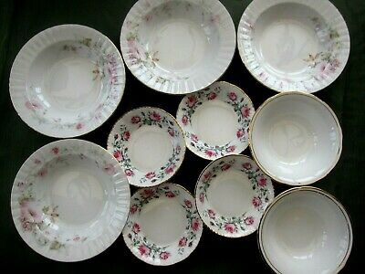 Selection Of Soup/Cereal/Pudding Bowls
