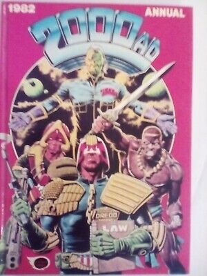 2000 AD Annual 1982 - Fleetway - VERY FINE CONDITION - FIRST PRINTING