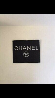 Chanel Clothes Tag/label
