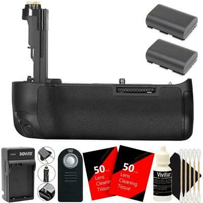 BG-E20 Replacement Battery Grip for Canon EOS 5D Mark IV w/ 2 Batteries and More