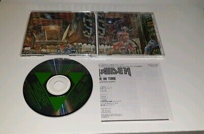 IRON MAIDEN SOMEWHERE IN TIME CD japan edition