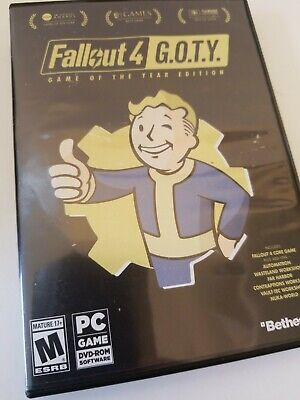 FALLOUT 4 G O T Y  XBOX One Game of The Year Edition - Used